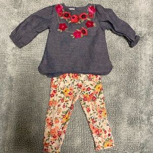 Mud pie infant outfit